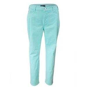 "NYDJ ""skinny"" seafoam jeans size 16P NWOT!"